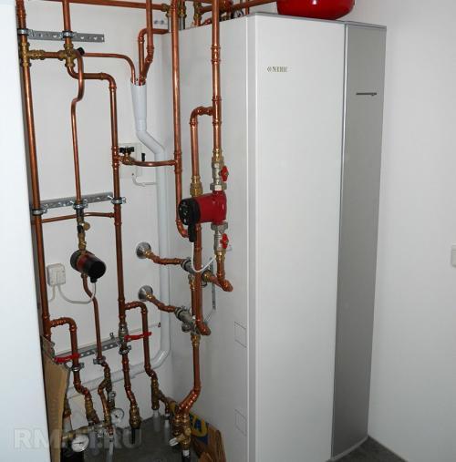 Тепловой насос для отопления дома.  NIBE F1245–8